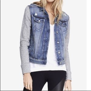 Express Hybrid Jean Jacket- LARGE